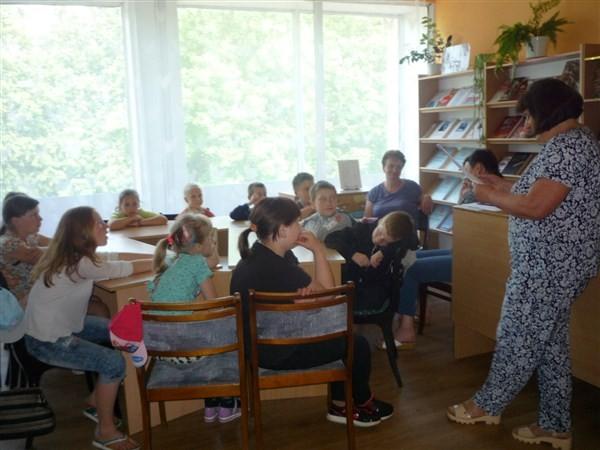 """Беседа для детского читателя """"Книги для души и ума"""""""